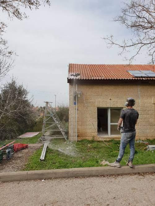 חיתוך בטון להרחבה